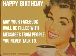 facebook, happy birthday