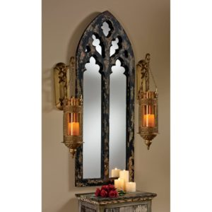 victorian gothic, decor, mirror